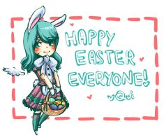 Happy Easter by Quisik