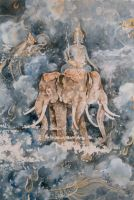 Temple Mural - Thailand by AstridBruning