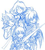 Tales of the world PSP by crocell