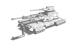 Tank concept by Eriopsis