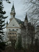 Neuschwanstein Castle Stock 02 by Malleni-Stock