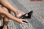 Fedra Removing Shoe 3 by Footografo