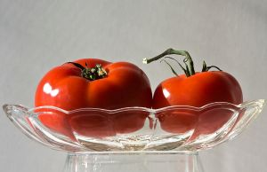 Two Tomatoes by muffet1