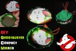DIY Ghostbuster Compact Mirror by YamiKlaus