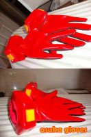 Asuka plugsuit gloves WIP #2 by nyunyucosplay