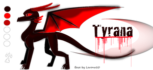 Tyrana ref update by QuestionTheDragon