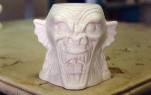 Ceramic gargoyle by Dave Britton by BrittonsConcoctions