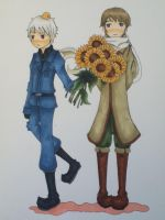 APH Prussia and Russia by unaXcosaXbella