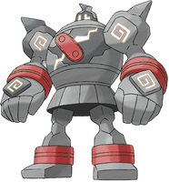 Sugimori Recolor Golurk by Zorcariorocks