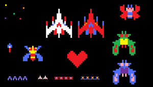 Galaga Sprites by mammaDX