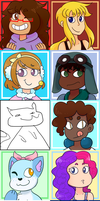 Contest Icons Pt.1 by Beartie