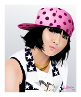 Minji of 2NE1 by itswithaKAY