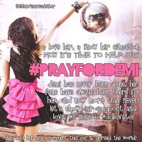 + Pray For Demi by withmusicinmyheart