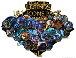 181 LoL icons by fazie69