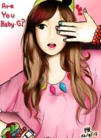 are you Baby-G? by tsuyochii