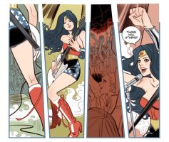 Sensation Comics ft. Wonder Woman #7 by MargueriteSauvage