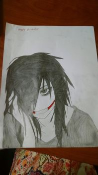 Jeff the killer by LeanardSnart
