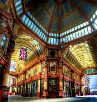 Leadenhall Market by wmandra