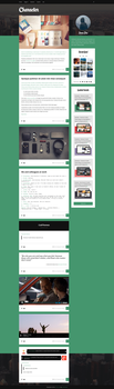 Character - Personal Tumblr Theme by NicotineLL