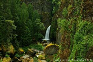 Wahclella Falls revisited by La-Vita-a-Bella