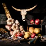 Still life with garlic and onions by Rob1962