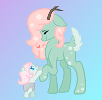 Flore and Cicile|Father and Daughter by Turtlezgomoo