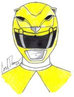 The Yellow Ranger by DreadMech23
