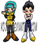 Commission: Dragon Ball Z Bookmarks by kojika