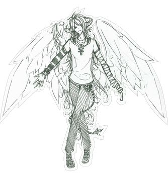 Not an Angel by kisarag-i