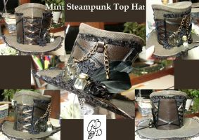 Mini Steampunk Top Hat by Aphilien