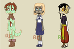 Pixel adopts 3/3 CLOSED by maid-in-rei