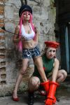 Cammy and Poison -  Street Fighter by MishiroMirage