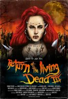 Return of the living Dead 3 Movie Poster by TobiasWeinald