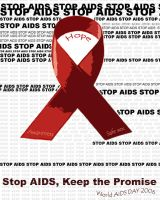 World AIDS day, STOP AIDS by Meggerz53
