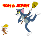 Tom and Jerry chase by ZeFrenchM