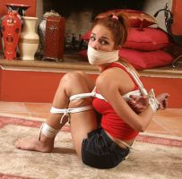 mercedes gagged by decoy17541