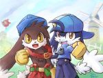 Klonoa - Red And Blue by aun61