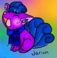 Jarian the Vulpix [ With Accessories ] by iFailAtEverything