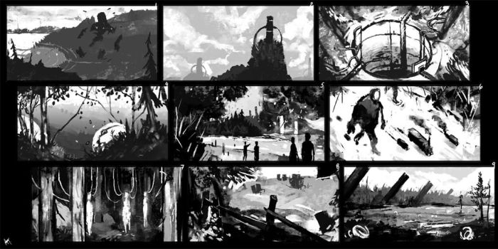 Nature Thumbnails by Nanimo