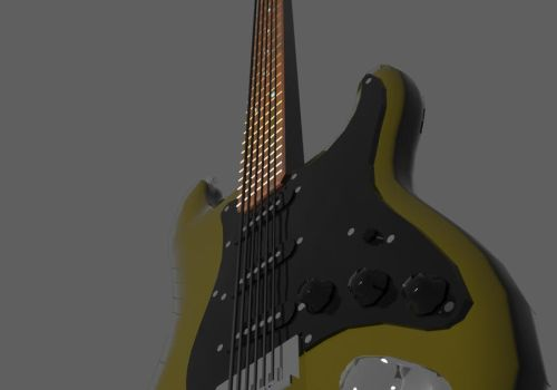 Fender Stratocaster #2 by turnbuckle