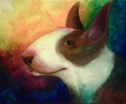 English Bull Terrier by Primavera98