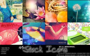 Icons - Random-Stock Set 2 by lilbrokenangel