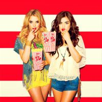 Ashley Benson and Lucy Hale by KatiiePella