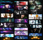 Tag Wall Paranoid by motin45
