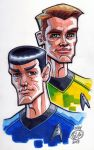 Kirk and Spock by Chad73