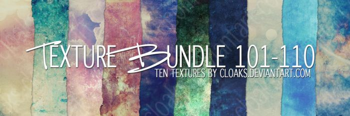 Texture Bundle 101-110 by cloaks