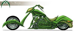 Mantis bike design by lgliang