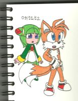 Tails Cosmo: surprised...a bit by cmara