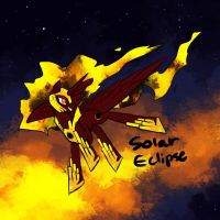 Solar Eclipse by Sareii