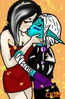 Kiss by Black-Lace-Lollypop
